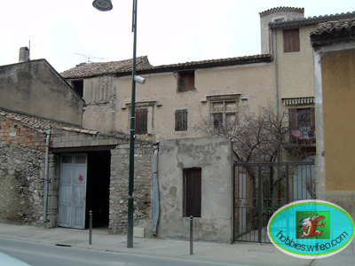 façade principale avant intervention