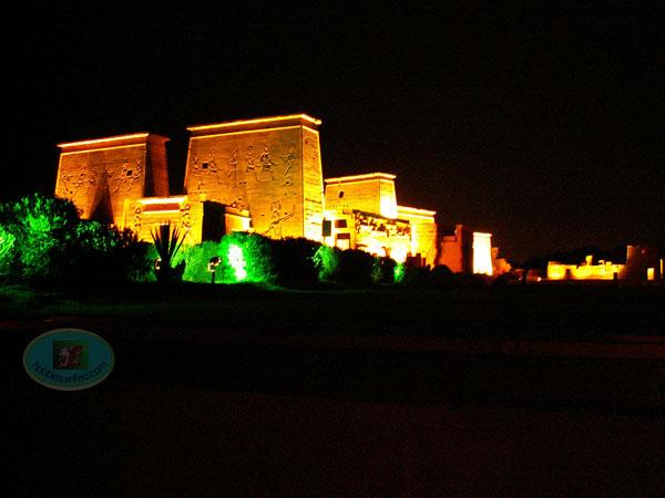 temple de PHILAE en nocturne