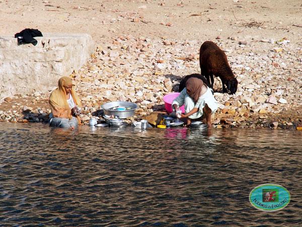le lave vaisselle made in EGYPTE...(l ancêtre de LADEN...pas le BEN...)